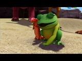 2  сезон   06. Это не динозавр! Сад Тайни / That's Not A Dinosaur! Tiny's Garden (lessons taught: Amphibians / Gardens)
